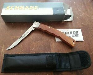 SCHRADE  MA5 Small folding fillet knife Taylor Brands LLC.
