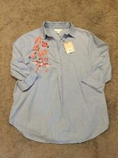 A:Glow Maternity Tunic Top/Shirt/Blouse - Size Small - NWT!!