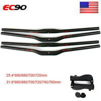 EC90 MTB 31.8/25.4*660-760mm T800 Carbon Handlebar Bike Accessories Black Matt