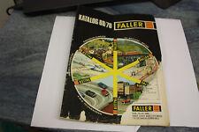Faller AMS Catalogue 69/70 ow52/03