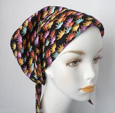 Elegant Cancer Chemo Hair Loss Scarves Hat Cotton Turban Head Wrap Alopecia Cap