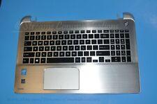 TOSHIBA Satellite S55-B5258 Laptop Palmrest w/ TouchPad + BackLit Keyboard