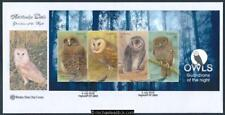 05-Jul-2016 Australian Owls MIniature Sheet Wesley First Day Cover