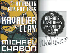 Michael Chabon SIGNED AUTOGRAPHED Amazing Adventures of Kavalier Clay HC 1st Ed