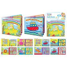 2 X First Steps Baby Bade Bücher Dschungel und Reise Bathtime Spaß 6m +