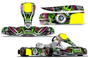 Go-Kart Graphics kit Decal for Tony Kart M6 Frenzy Green