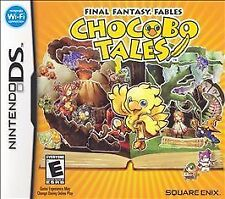 Final Fantasy Fables: Chocobo Tales *New* Works With 3DS (Nintendo DS, 2007)