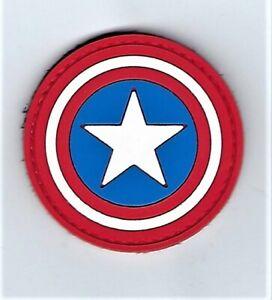 Captain America PVC Patch (MARSOC SEAL USAF Navy SWAT F-35 Ranger) 311