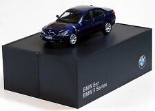 Minichamps 1/43 BMW 5 Series E60 Coupe Blue Metallic DIECAST 80420153196 RG143