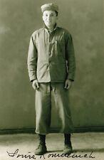 Iwo Jima Louis Komnenich WWII Paramarine Navy Cross (2nd highest medal) SIGNED