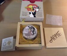 2 oz. Fine Silver Coloured Coin – Looney Tunes™ Classic Scenes: Birds Anonymous
