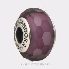 Authentic Pandora Sterling Silver Murano Fascinating Purple Bead 791071 *LAST 1