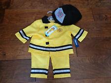 NEW FIREMAN 0-6 months NWT yellow/black Old Navy Halloween Costume/Dress up