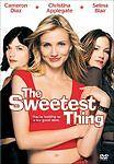 The Sweetest Thing DVD Christina Applegate Selma Blair Cameron Diaz R-RateD