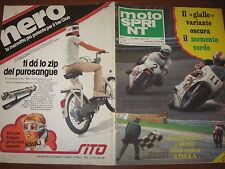 MOTOSPRINT 1978/21 PROVA ANCILLOTTI 50 SHIFTY 900 PUBBLICITA' NERO MARMITTA