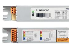 54W 2-LAMP F54T5HO ELECTRONIC BALLAST UNIVERSAL LTG 120/277V B254PUNV-D 10 PACK