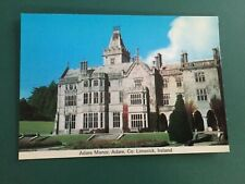 VINTAGE IRISH POSTCARD - ADARE MANOR, CO LIMERICK CARDALL 294