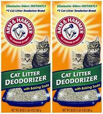 Arm n Hammer Cat Litter Deodorizer With Activated Baking Soda 20 oz (Pack of 2)