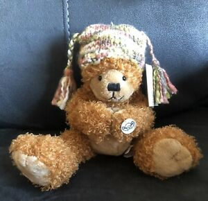 """Russ """"Little Lost Bear"""" Soft Teddy Has Magnetic Paws - Rikey Austin New With Tag"""