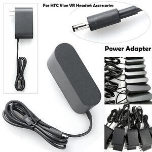 Schwarz für  HTC Vive VR Headset Accessories Streaming Box Power AC Adapter MV