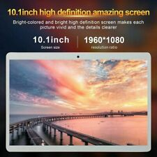 10.1 Inch 4G Tablet Android 9.0 PC Pad 6+128GB Dual SIM GPS WiFi Camera