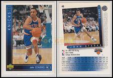 NBA UPPER DECK 1993/94 - John Starks # 48 - Knicks - Ita/Eng - MINT