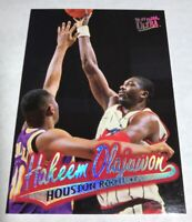 1996-97 Ultra Houston Rockets Basketball Card #42 Hakeem Olajuwon Hard_8s_Magic