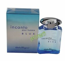 Incanto Blue Pour Homme By Salvatore Ferragamo 3.4/3.3 edt Spray New In Box