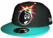 2ee21bf1 The Hundreds 59FIFTY New Era Fitted Cap Forever Adam Bomb Men's Hat Size 7 1 /