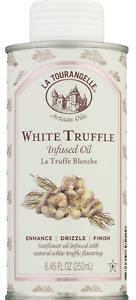 La Tourangelle White Truffle Infused Oil, Artisan Oil, 8.5oz (250ml) Exp 03/2022