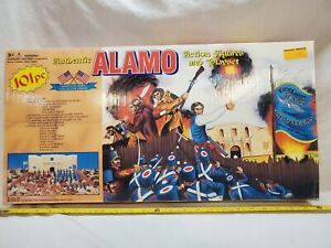 Alamo Action Figures & Playset 101 Pieces By American Hero Collector Series