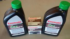 Kawasaki OEM 10W40 Motor Oil 2 Quart with Filter 49065-7007