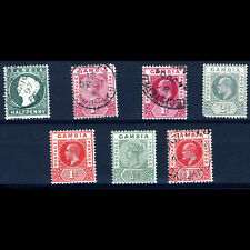 GAMBIA Selection. 7 Values. Condition Varies. (BH072)