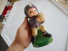 """Vintage ECU Pirates East Carolina Rare Piggy Bank 7.5"""" Ceramic"""