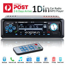1 DIN Bluetooth 12V Car Stereo Headunit Radio MP3/WMA Player USB/SD/FM