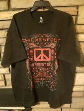 Chickenfoot Shirt 2XL XXL 2012 Different Devil Tour Exclusive Graphics BLACK New