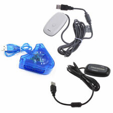 Black/white PC Wireless Controller Gaming USB Receiver Adapter for XBOX 360