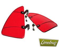 Vw Ventana deflector de viento Brisas Aire Rojo trimestre Luz Beetle Hotrod Camper T1