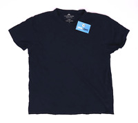 Easy Womens Size L Cotton Blue T-Shirt (Regular)
