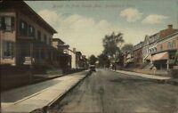 Bridgeport CT Broad St. c1910 Postcard