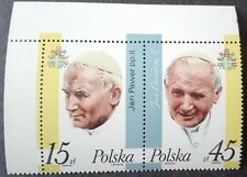 POLAND STAMPS MNH Fi2951-52 Sc2805-06 Mi3099+00 - Pope John Paul II,1987, **