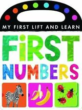 My First Lift and Learn: First Numbers, Little Tiger Press, 1848956223, New Book
