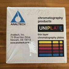 Analtech 01012 Uniplate thin layer chromatography plates 500 microns Z512990