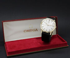 New Old Stock Ca.1960 OMEGA GENÈVE solid 18K gold 131.0021 vintage NOS watch 601