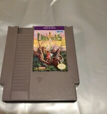 CONQUEST OF THE CRYSTAL  Nintendo NES Game Cartridge: Cleaned/ Tested
