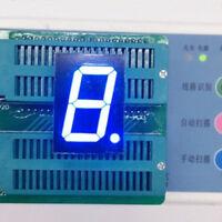 1-inch 7segment LED Display 1Digital 1-bit Block Tube Blue CC 7-Segmento Display