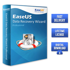 EaseUS Data Recovery Wizard v13.2 Professional 🔐Lifetime License✅Fast Delivery