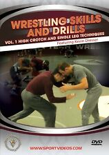 Wrestling Skills and Drills - Vol. 1 High Crotch and Single Leg Techniques DVD