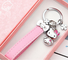new hello kitty keychain key chain bag pendant Best gift