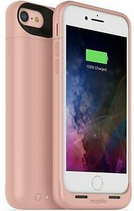 mophie Juice Pack Air 2525mAh Battery Charge Case iPhone 8 & iPhone 7, Rose Gold